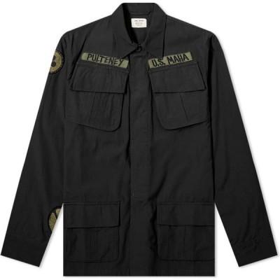 マハリシ Maharishi メンズ ジャケット シャツジャケット アウター Jungle Fatigue Overshirt Black