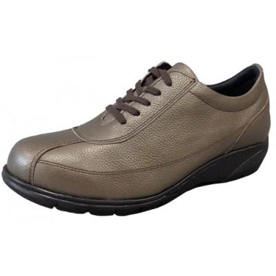 FookaL フッカル 3Eソフト牛革超軽量 レディースシューズ ブロンズ(婦人靴)