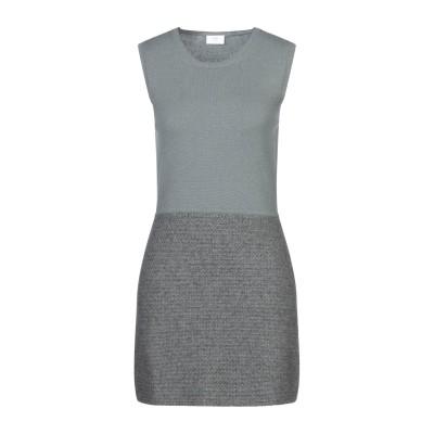 ALYKI ミニワンピース&ドレス グレー XS カシミヤ 100% ミニワンピース&ドレス