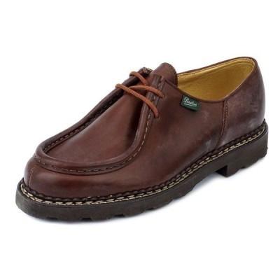 PARABOOT パラブーツ 革靴 MICHAEL 715603 メンズ 男性 ローファー シューズ MARRON ライトブラウン