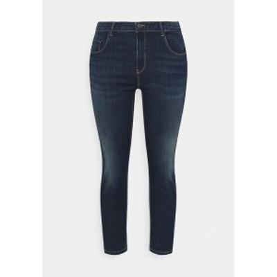 オンリー カルマコマ レディース デニムパンツ ボトムス CARANTE LIFE PUSHUP - Jeans Skinny Fit - dark blue denim dark blue denim