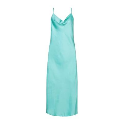 エッセンシャル・アントワープ ESSENTIEL ANTWERP 7分丈ワンピース・ドレス ライトグリーン 36 ポリエステル 100% 7分丈ワン