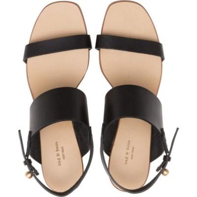 ラグ&ボーン rag & bone レディース サンダル・ミュール シューズ・靴 City Mid-Heel Sandal Black