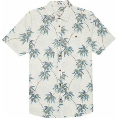 オニール メンズ シャツ トップス Ticket To Hawaii Short Sleeve Button Down Shirt Bone