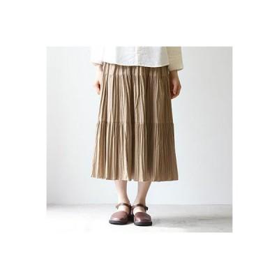 (12/3新色追加)ROCK MOUNT[ロックマウント] コーデュロイティアードスカート  sp9948 cotton corduroy