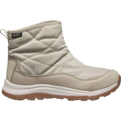 キーン KEEN レディース ハイキング・登山 ショートブーツ ブーツ シューズ・靴 Terradora II Ankle Pull-On WP Boot Plaza Taupe/Silver Birch