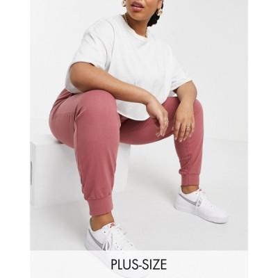 インフルエンス Influence Plus レディース ジョガーパンツ ボトムス・パンツ Joggers Co-Ord In Rose Pink ローズピンク