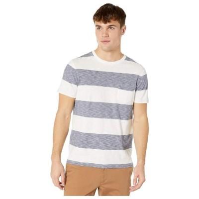 ジェイクルー メンズ シャツ トップス Rig Stripe Short Sleeve Tee