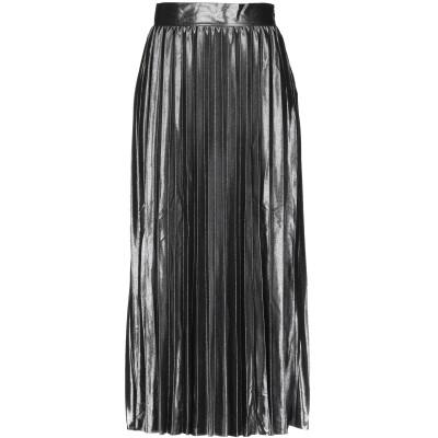 ONLY 7分丈スカート 鉛色 M ポリエステル 100% 7分丈スカート