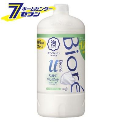 ビオレu ザ ボディ 泡タイプ ヒーリングボタニカルの香り (つめかえ用) 800ml 花王