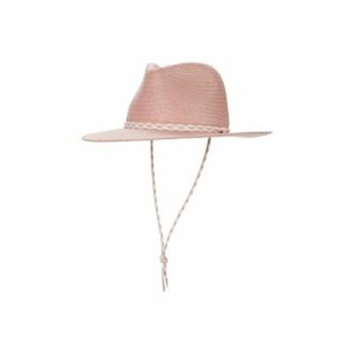 ラグアンドボーン レディース 帽子 アクセサリー Packable Straw Fedora Rose