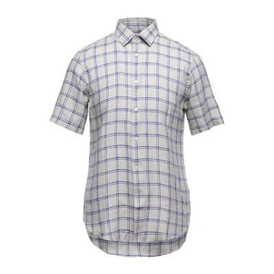 LAB. PAL ZILERI シャツ ベージュ 45 リネン 52% / コットン 48% シャツ
