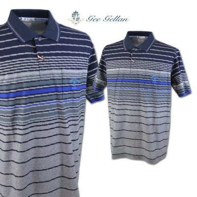 ゲラン メンズ 半袖ポロシャツ (L)(LL) GEE GELLAN 3210-2504-51