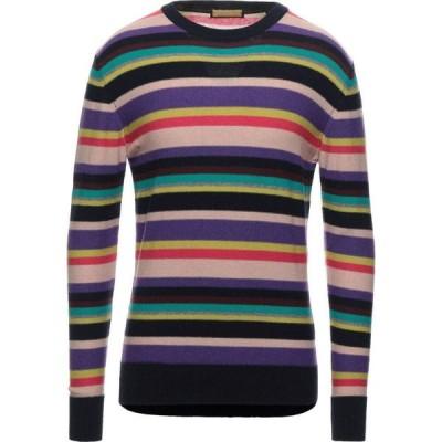 スコッチ&ソーダ SCOTCH & SODA メンズ ニット・セーター トップス Sweater Purple