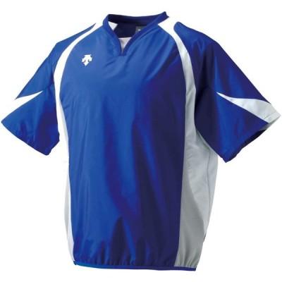 DESCENTE(デサント) 野球 半袖ウインドジャック ロイヤルブルー×ホワイト Lサイズ PJ321
