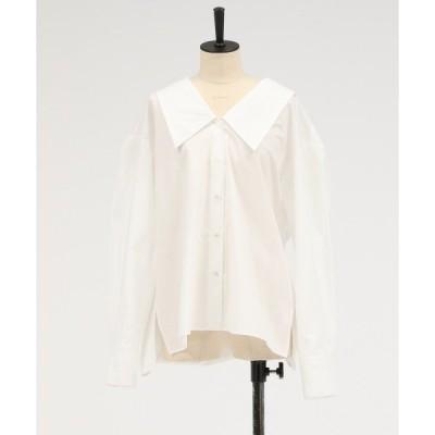 シャツ ブラウス BIGカラーシャツ 938392