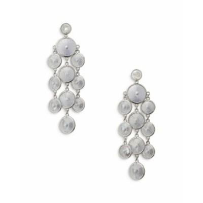 ケイトスペード レディース ピアス・イヤリング アクセサリー Crystal Chandelier Earrings Clear/silver