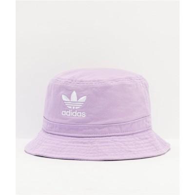 アディダス ADIDAS レディース ハット バケットハット 帽子 adidas Originals Washed Lavender Bucket Hat Light/pastel purple