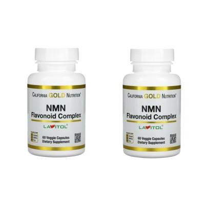 「お得な2本セット」California Gold Nutrition社NMN1粒あたり150mg60粒×2本