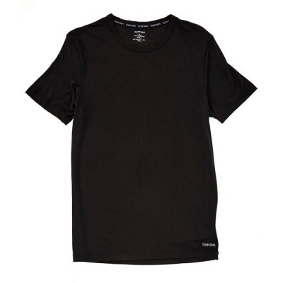 カルバンクライン メンズ シャツ トップス Ultra-Soft Modal Lounge Crewneck Tee Black