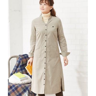 【大きいサイズ】 綿100%コーデュロイワンピース ワンピース, plus size dress