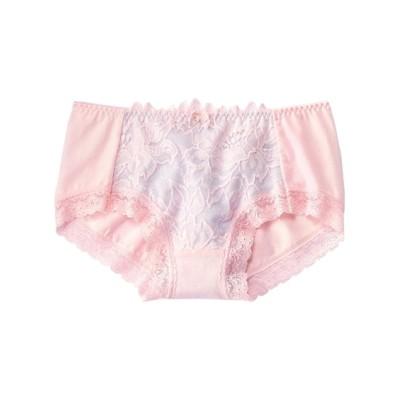 綿混ストレッチショーツ2枚組(エレガントレース)(L) スタンダードショーツ, Panties