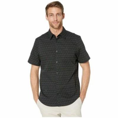 カルバンクライン Calvin Klein メンズ 半袖シャツ トップス The Stretch Cotton Short Sleeve Woven Shirt Black