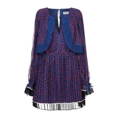SELF-PORTRAIT ミニワンピース&ドレス ブルー 8 ポリエステル 100% ミニワンピース&ドレス