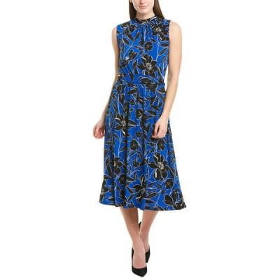 レオタ ワンピース トップス レディース Leota A-Line Dress classic floral Turkish sea
