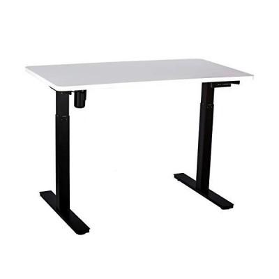 "GT Innovation 53"" W x 27.5"" D Height Adjustable Desk Sit Stand Desk Stand Up Desk Standing Workstation Electric Desk Monitor Riser Electric"