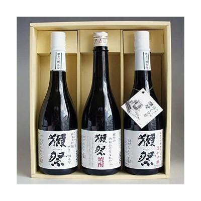 獺祭 焼酎日本酒飲み比べセット 獺祭 39度 米粕取り焼酎と獺祭 39 三割九分と獺祭 遠心分離39 720ml 計3本 感謝のギフト箱入り
