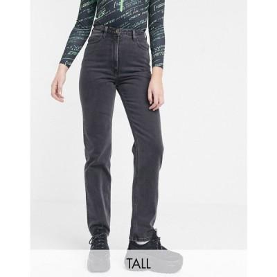 コルージョン Collusion レディース ジーンズ・デニム ボトムス・パンツ COLLUSION x006 Tall mom jeans in washed black ブラック