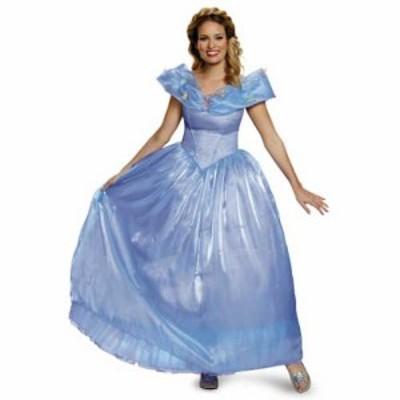 ハロウィン コスプレ ディズニー DISNEY シンデレラ  ドレス  デラックス Cinderella ドレス  大人M  88935B cs0822 dp0822