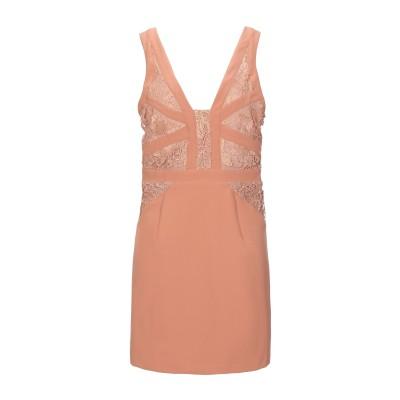 HEFTY ミニワンピース&ドレス キャメル 48 ポリエステル 100% ミニワンピース&ドレス