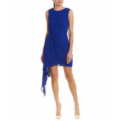 Bardot バルドー ファッション ドレス Bardot Asymmetrical Cocktail Dress M Blue