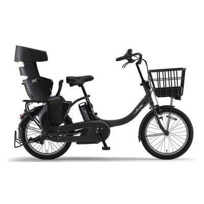 ヤマハ(YAMAHA) 電動アシスト自転車 PAS Babby un (RCS付き)12.3Ah PA20BXLR マットブラック2