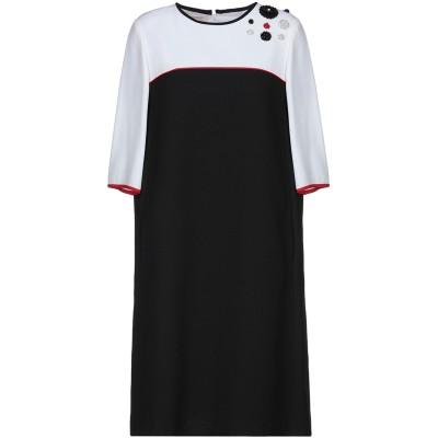 BOTONDI COUTURE ミニワンピース&ドレス ホワイト 46 アセテート 79% / レーヨン 21% / ポリエステル / コットン /