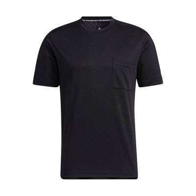 アディダス(adidas) メンズ 半袖 Tシャツ M MH TERO pocket TEE ブラック JKL41 GN0801 トップス スポーツウェア トレーニング