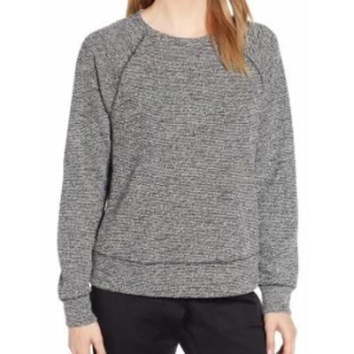 ファッション トップス Lou & Grey NEW Black White Boucle Knit Womens XXL Crewneck Sweater `$59 #510