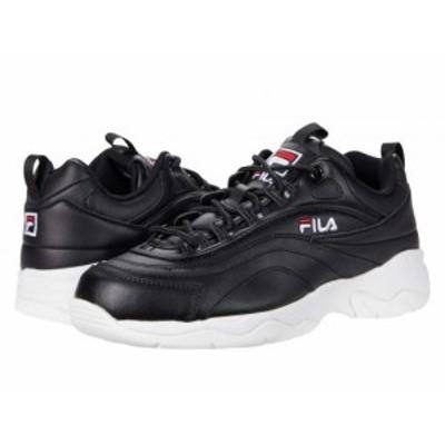 Fila フィラ レディース 女性用 シューズ 靴 スニーカー 運動靴 Disarray Black/White/Red【送料無料】
