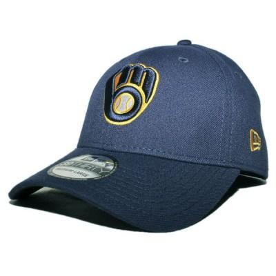 ニューエラ ベースボールキャップ 帽子 NEW ERA 39thirty メンズ レディース MLB ミルウォーキー ブルワーズ nv