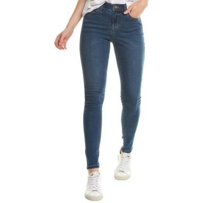 ジュールズ カジュアルパンツ ボトムス レディース Joules Monroe Mid Blue High-Rise Skinny Leg Jean mid blue