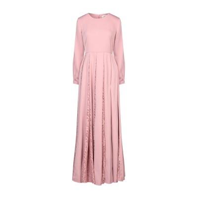 IRIS & INK ロングワンピース&ドレス パステルピンク 4 ポリエステル 97% / ポリウレタン 3% ロングワンピース&ドレス