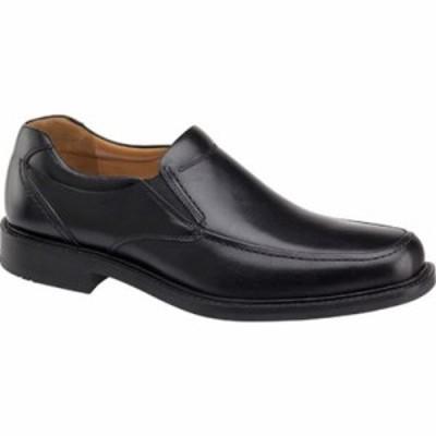 ジョンストン&マーフィー 革靴・ビジネスシューズ Tabor Slip-On Black Calfskin