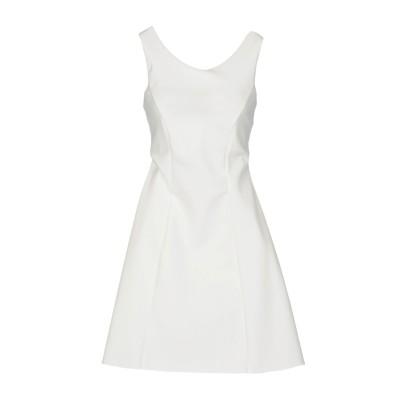CHRISTIES À PORTER ミニワンピース&ドレス ホワイト 44 ナイロン 72% / ポリウレタン 28% ミニワンピース&ドレス