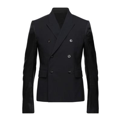 リック オウエンス RICK OWENS テーラードジャケット ブラック 48 バージンウール 96% / ポリウレタン 4% / キュプラ テーラ
