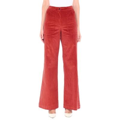 ロートレ ショーズ L' AUTRE CHOSE パンツ 赤茶色 40 コットン 98% / ポリウレタン 2% パンツ