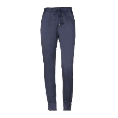 ジジル JIJIL パンツ ブルー 38 コットン 58% / シルク 35% / ポリウレタン 7% パンツ