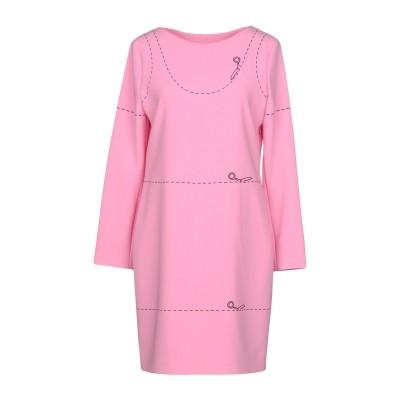 モスキーノ MOSCHINO ミニワンピース&ドレス ピンク 38 64% トリアセテート 36% ポリエステル ミニワンピース&ドレス