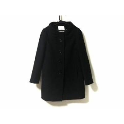 ケイトスペード Kate spade コート サイズ0 XS レディース - 黒 長袖/冬【中古】20201017